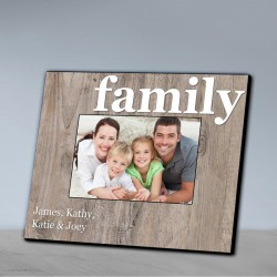 Our Family Picture Frame-Family