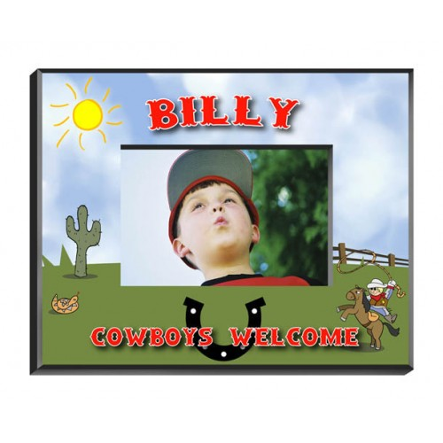 Personalized Cowboy Frame
