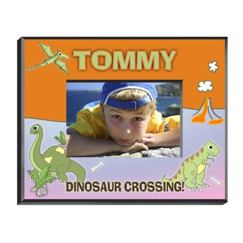 Personalized Dinosaur Frame
