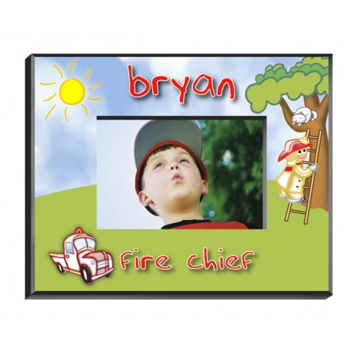 Personalized Fireman Frame