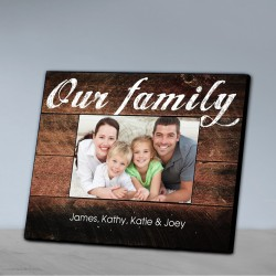 Personalized Our Family Picture Frame-Our Family