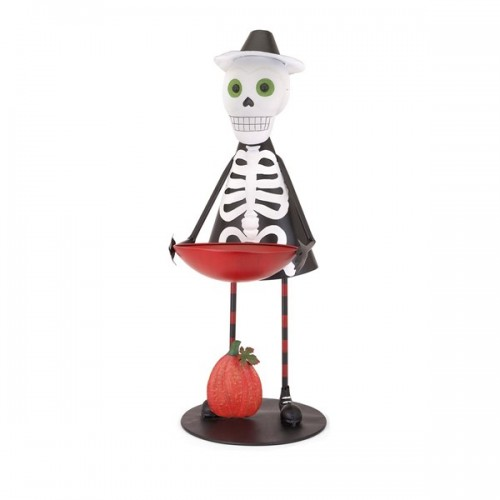 Sam the Skeleton with Candy Bowl