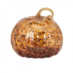 Tortoise Large Glass Pumpkin