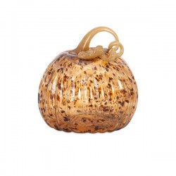 Tortoise Small Glass Pumpkin