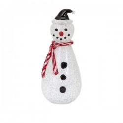 Frosty Large Glass Snowman