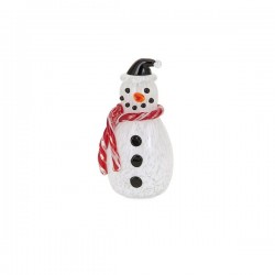 Frosty Small Glass Snowman