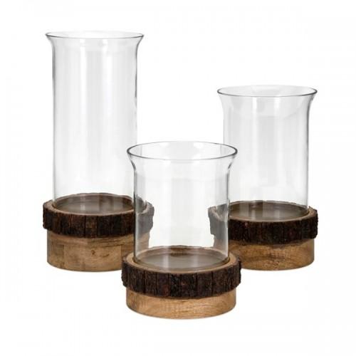 Damari Pillar Candleholders - Set of 3